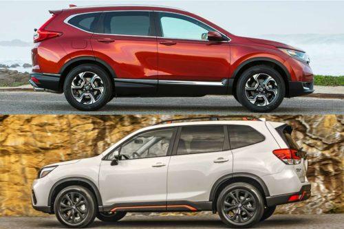2019 Honda CR-V vs. 2019 Subaru Forester: Which is Better?