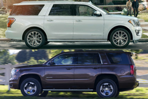 2019 Ford Expedition vs. 2019 Chevrolet Tahoe: Which Is Better?