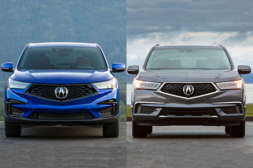 2019 Acura RDX vs. 2019 Acura MDX: What's the Difference?