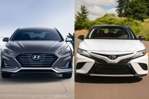 2019 Hyundai Sonata vs. 2019 Toyota Camry: Which Is Better?