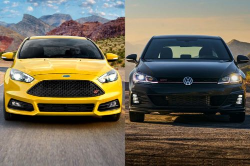 2019 Ford Focus ST vs. 2019 Volkswagen Golf GTI: Which Is Better?