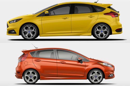 2019 Ford Focus vs. 2019 Ford Fiesta: What's the Difference?