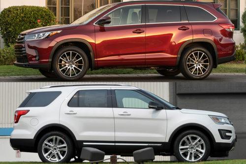 2019 Toyota Highlander vs. 2019 Ford Explorer: Which Is Better?