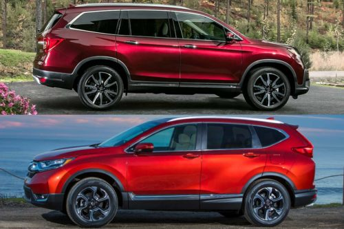 2019 Honda Pilot vs. 2019 Honda CR-V: What's the Difference?