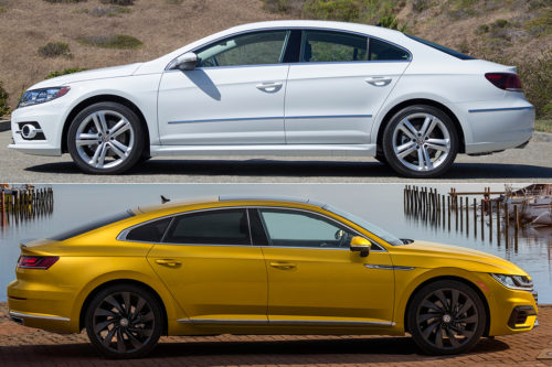 2017 Volkswagen CC vs. 2019 Volkswagen Arteon: What's the Difference?