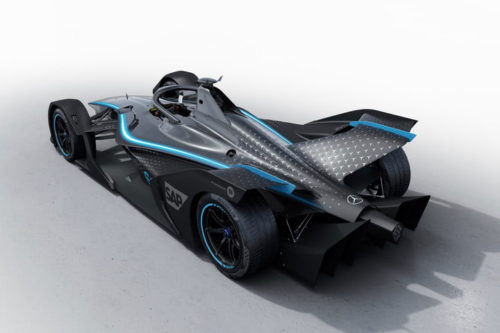 Mercedes-Benz hopes to repeat its Formula One success in all-electric Formula E
