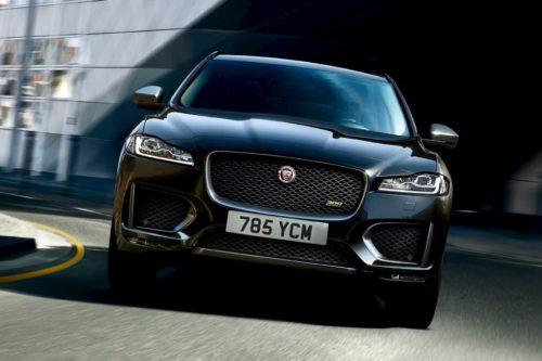 Limited-edition Jaguar F-PACE models released