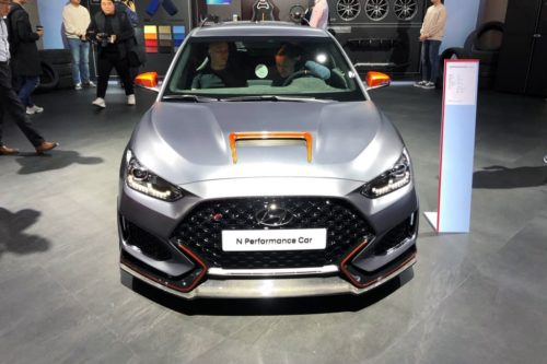 Hyundai Veloster N Performance Car concept outed