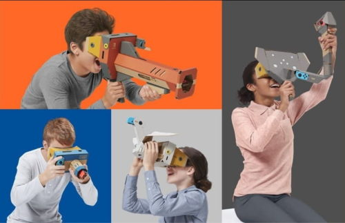 Nintendo Labo: VR Kit brings cardboard-assisted VR games to Switch