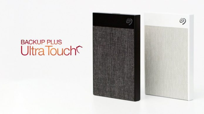 Seagate Backup Plus Ultra Touch review: It's a hard drive! It's a carpet sample!
