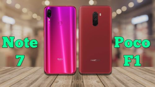 XIAOMI POCO F1 vs XIAOMI REDMI NOTE 7 : Which is best?