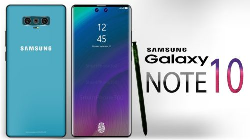 Will the Samsung Galaxy Note 10 look like these great renders?