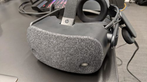 HP's high-res Reverb VR headset blows the screen door effect off its hinges
