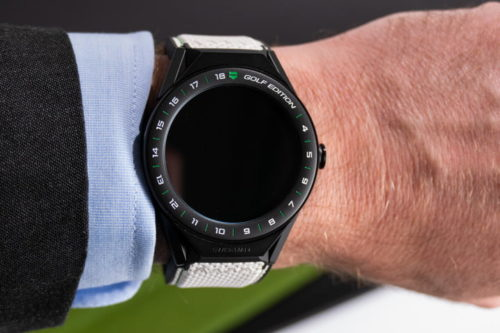 Tag Heuer's Golf Edition smartwatch is a lot more than just a flash of new color