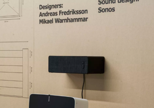 Ikea's Sonos speaker doubles up as a shelf