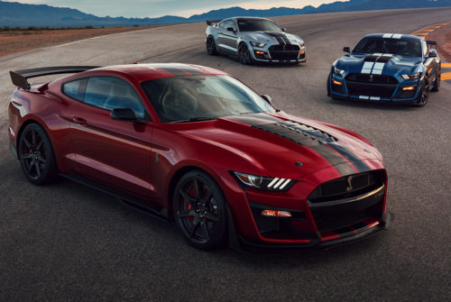 Ford Slaps a Top-Speed Governor on the Most Powerful Mustang Shelby GT500 to Date
