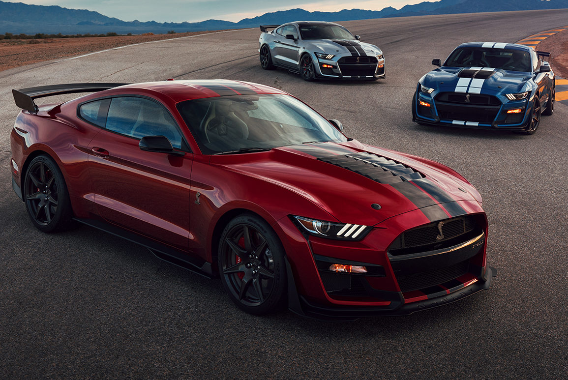 Ford slaps a top speed governor on the most powerful mustang shelby gt500 to date