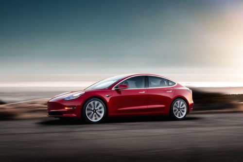 Tesla wirelessly gives the Model 3 a 5-percent increase in power