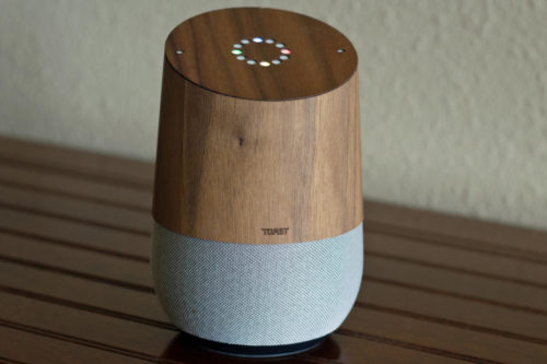 Toast Google Home Wood Cover review: A pricey way to prettify your smart speaker