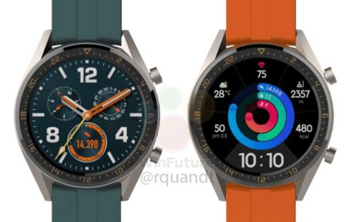 Huawei Watch GT Active and Elegant leaked, look familiar