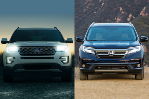 2019 Ford Explorer vs. 2019 Honda Pilot: Which Is Better?