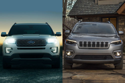2019 Ford Explorer vs. 2019 Jeep Cherokee: Which Is Better?
