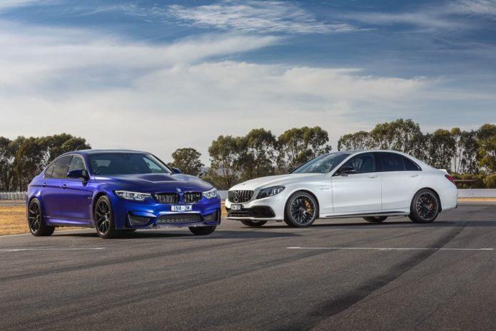 BMW M3 CS v Mercedes-AMG C 63 S Comparison