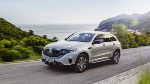 2020 Mercedes EQC Edition 1886 gives debut e-SUV a striking look