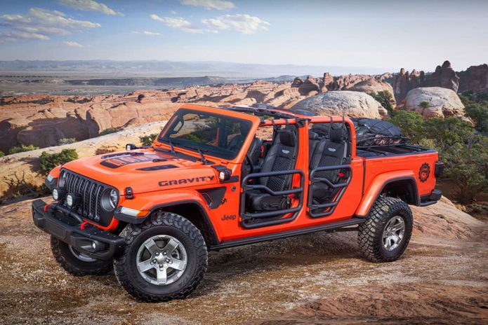 Jeep Moab ute concepts unveiled