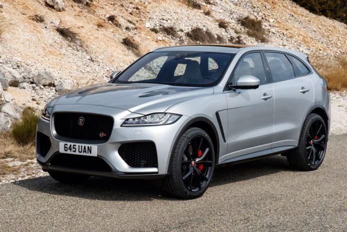 new jaguar f pace svr super suv will be limited gearopen. Black Bedroom Furniture Sets. Home Design Ideas