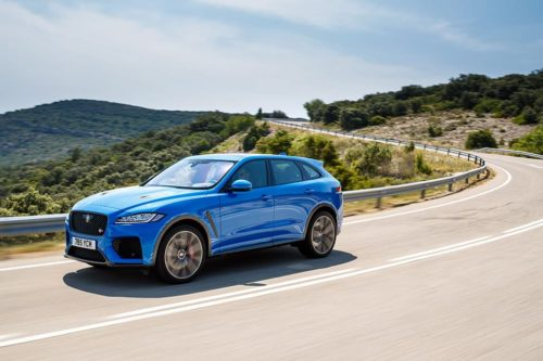 2019 Jaguar F-PACE SVR Review — International