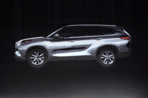 The 2020 Toyota Highlander is a real work of art — literally, for now