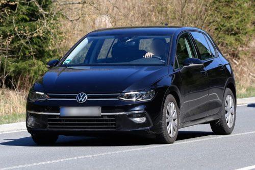 2020 Volkswagen Golf exposed