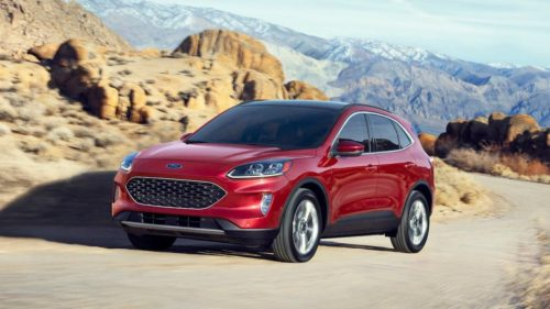 2020 Ford Escape crossover gets huge redesign and tech boost