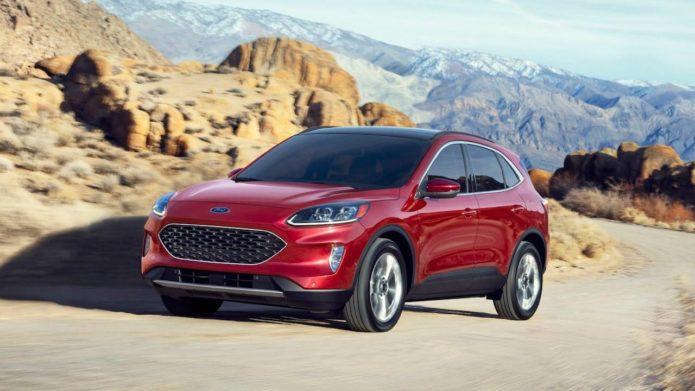 2020 Ford Escape Crossover Gets Huge Redesign And Tech