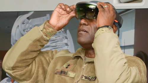 And finally: HoloLens is creating US Army super soldiers