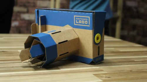 Nintendo Labo VR is Google Cardboard with more fun, more elephants