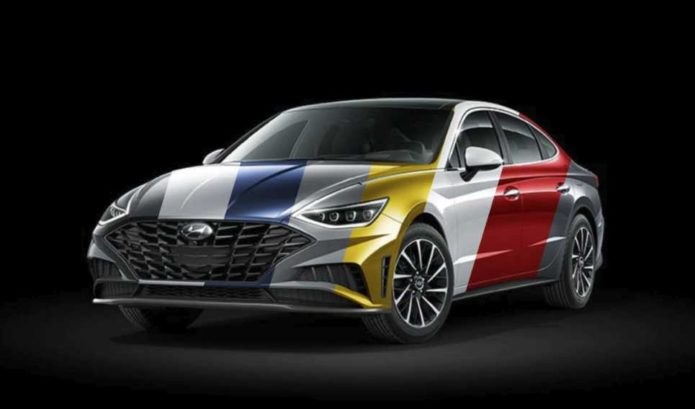 Here Are All of the 2020 Hyundai Sonata's Available Colors—Including Yellow