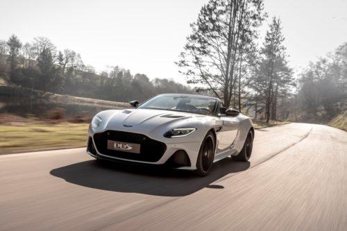 The 2020 Aston Martin DBS Superleggera Volante Is a 211-MPH Droptop