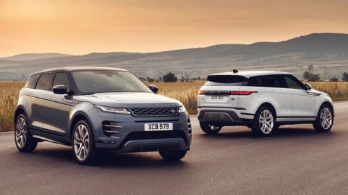 2020 Land Rover Range Rover Evoque first drive review