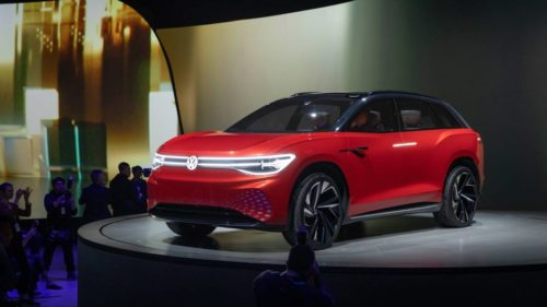 VW ID. ROOMZZ three-row electric SUV teases autonomous nap-time