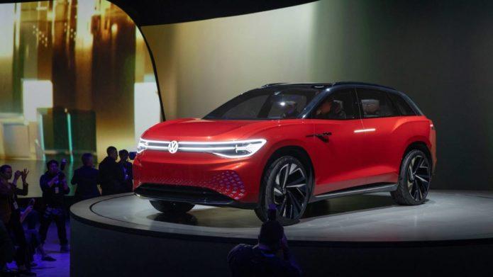 VW ID. ROOMZZ three-row electric SUV teases autonomous nap-time