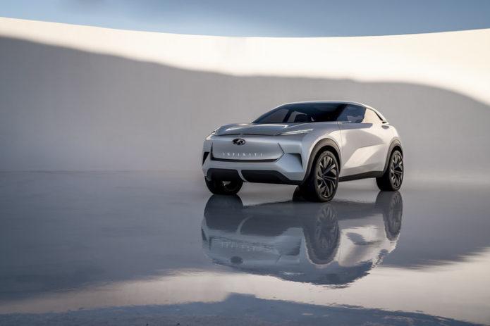 Infiniti QS Inspiration Concept Previews Future Q50 and Q70 Sedans