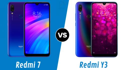 Xiaomi Redmi Y3 vs Redmi 7: What's different?