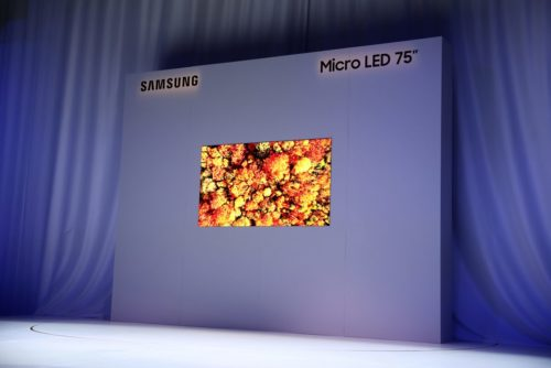 Next-gen MicroLED TVs could launch sooner than expected