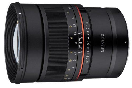 Samyang Releases AF 85mm f/1.4 F, MF 14mm f/2.8 Z and the MF 85mm f/1.4 Z Lenses for Nikon