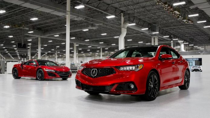 2020 Acura TLX PMC Edition gives sports sedan the NSX treatment