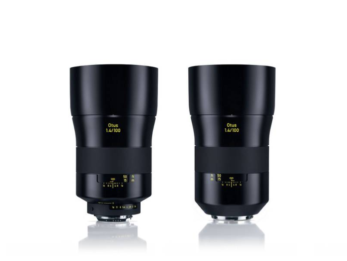 Zeiss Otus 100mm f/1.4 Lens Officially Announced