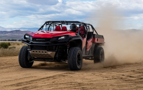 The Honda Rugged Open Air Vehicle Concept Is a Ridgeline Pickup for Mad Max