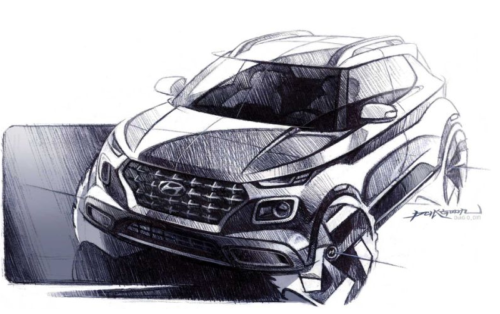 The 2020 Hyundai Venue Will Be a Small, Boxy, Weird Crossover